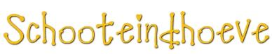 Schooteindhoeve Vlierden Logo